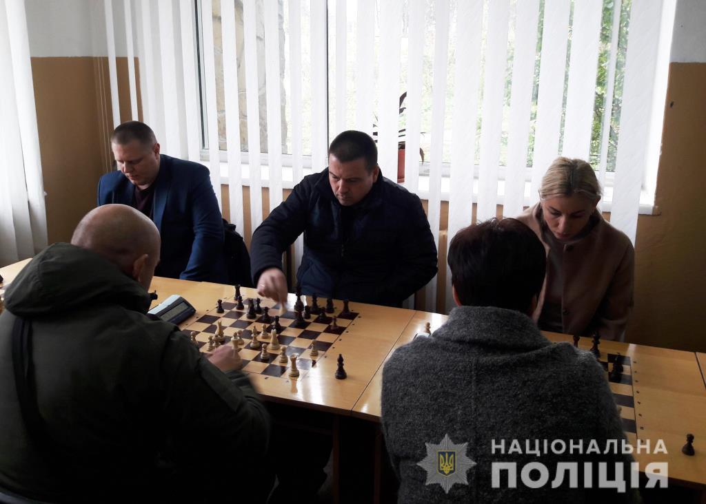 Волинські поліцейські вибороли третє місце на чемпіонаті із шахів