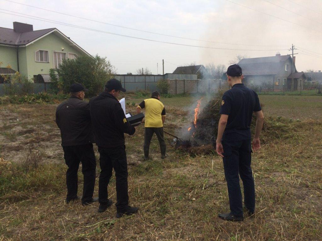 Рятувальники просять волинян не палити суху траву