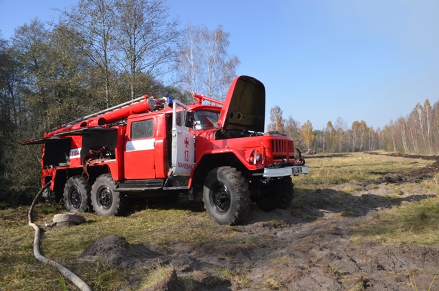З початку року на Волині зареєстрували 44 пожежі торфу