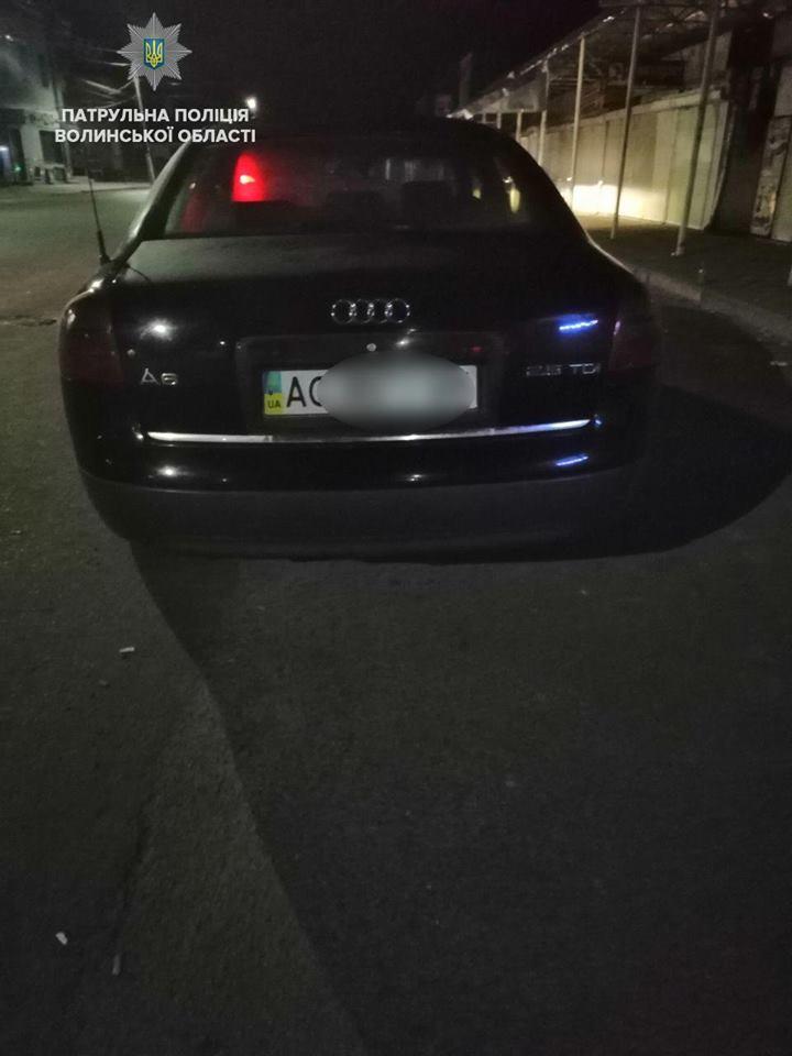 У Ковелі затримали водія-порушника з наркотиками