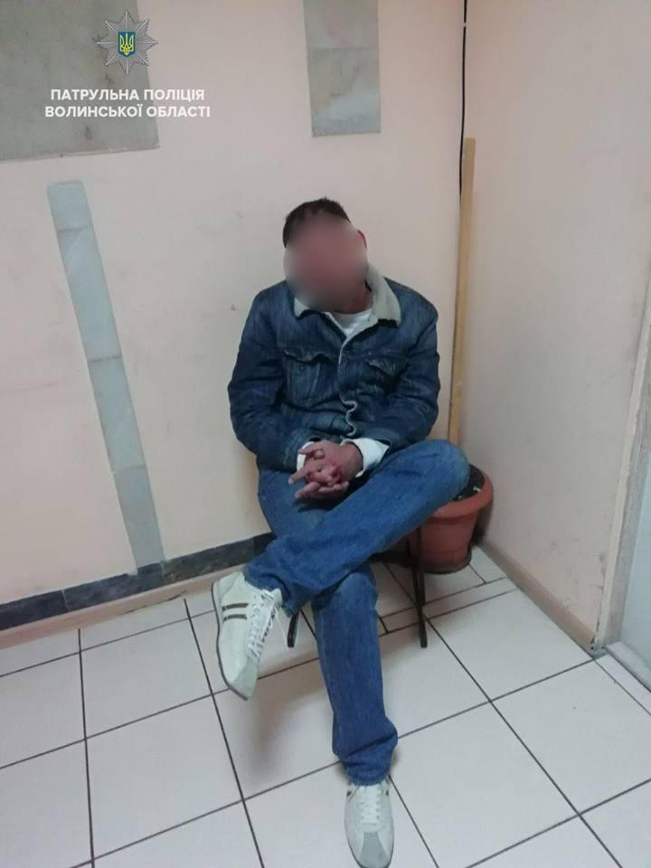 У Ковелі затримали порушника, який чинив непокору патрульним