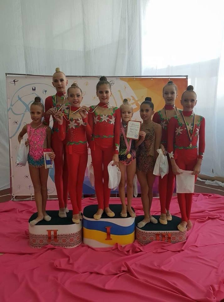 Юні гімнастки з Волині успішно виступили на престижному турнірі у столиці
