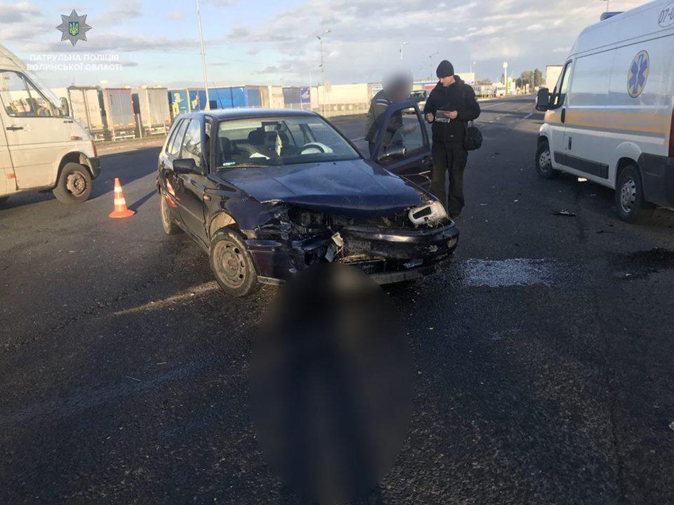 З вини нетверезих водіїв на Волині сталося дві ДТП. ФОТО
