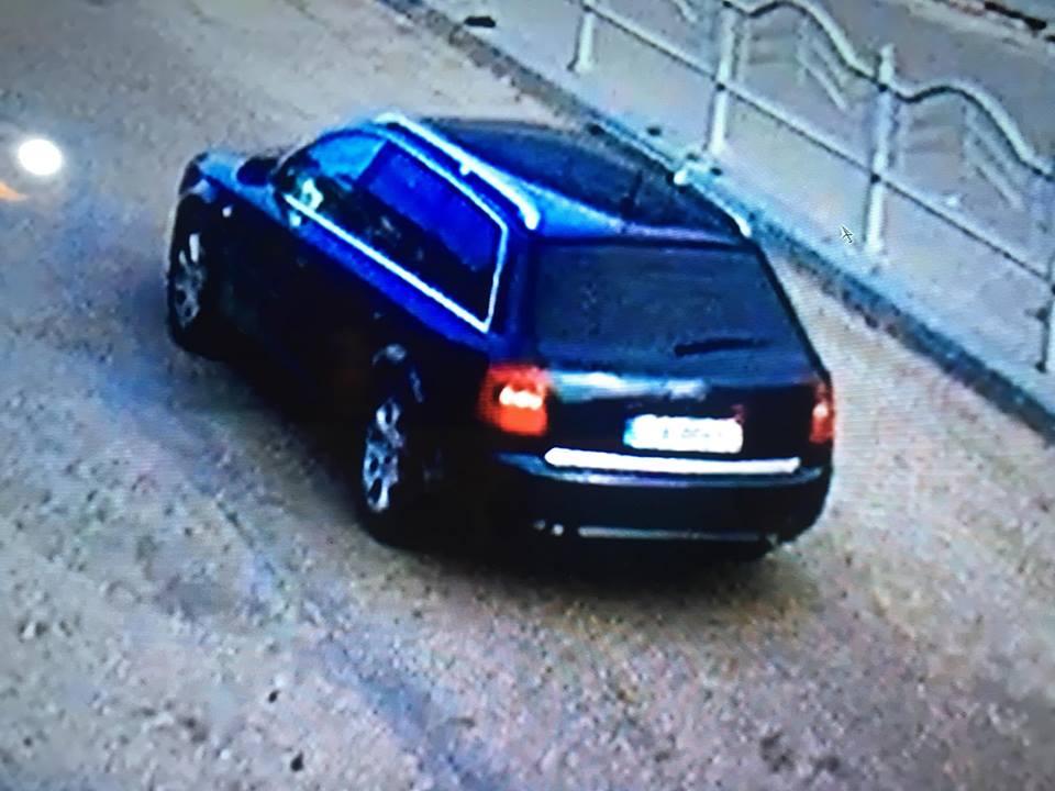 Волинян просять допомогти знайти авто, на якому втекли злочинці