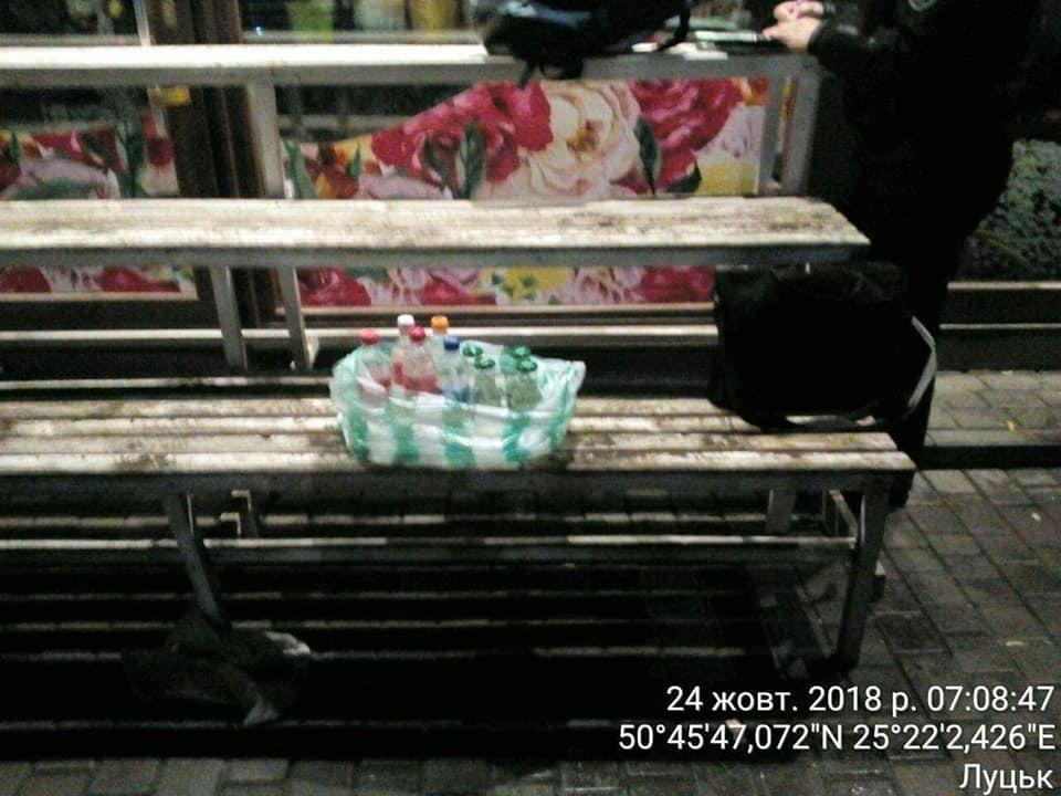 Лучанка торгувала сурогатом зі смітника. ФОТО