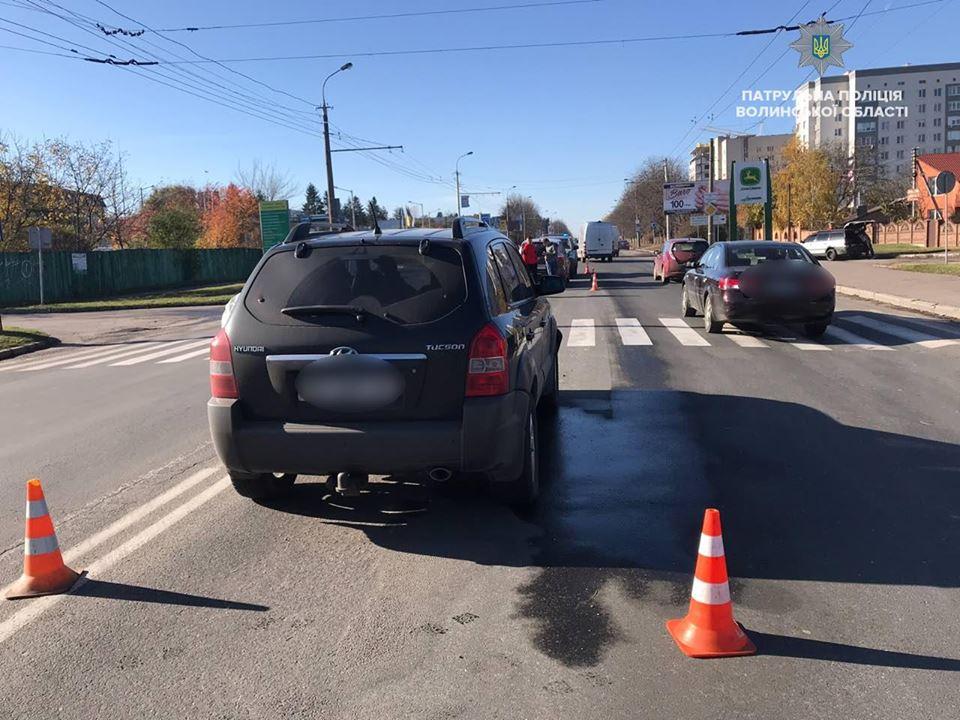 За сьогодні у Луцьку трапилось вісім автопригод. ФОТО