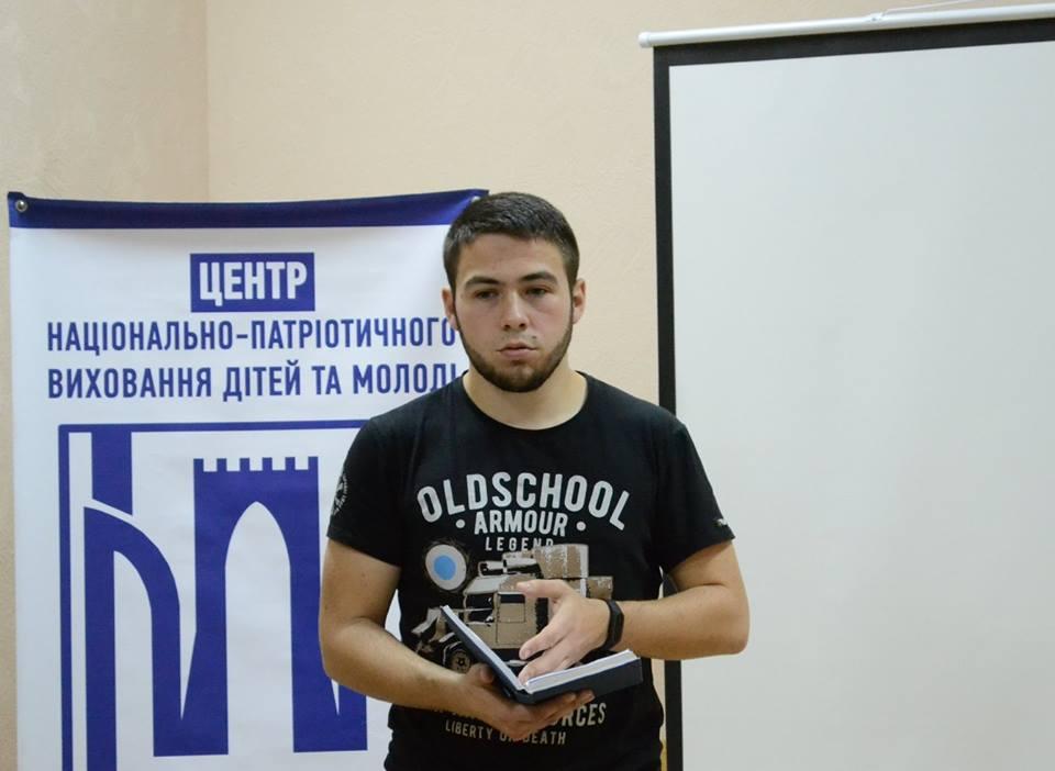 У Луцьку провели пізнавальну лекцію про події Листопадового чину. ФОТО