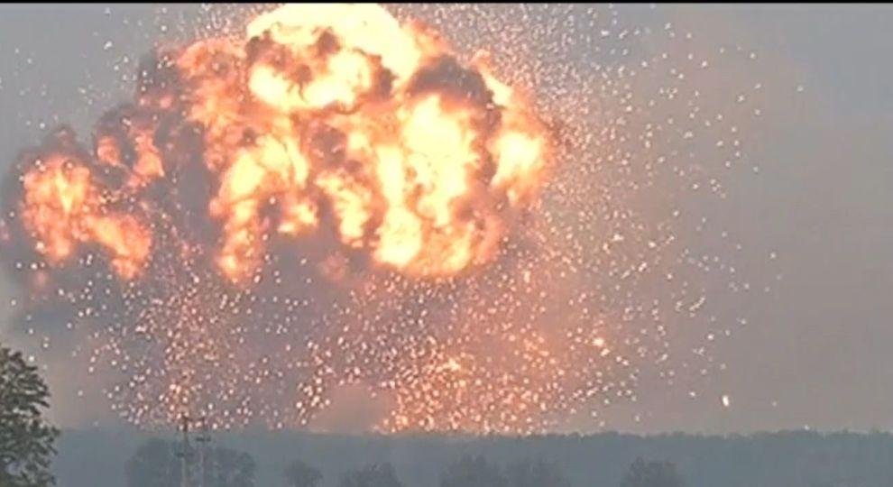Вибухи на складі боєприпасів на Чернігівщині: СБУ назвала три версії