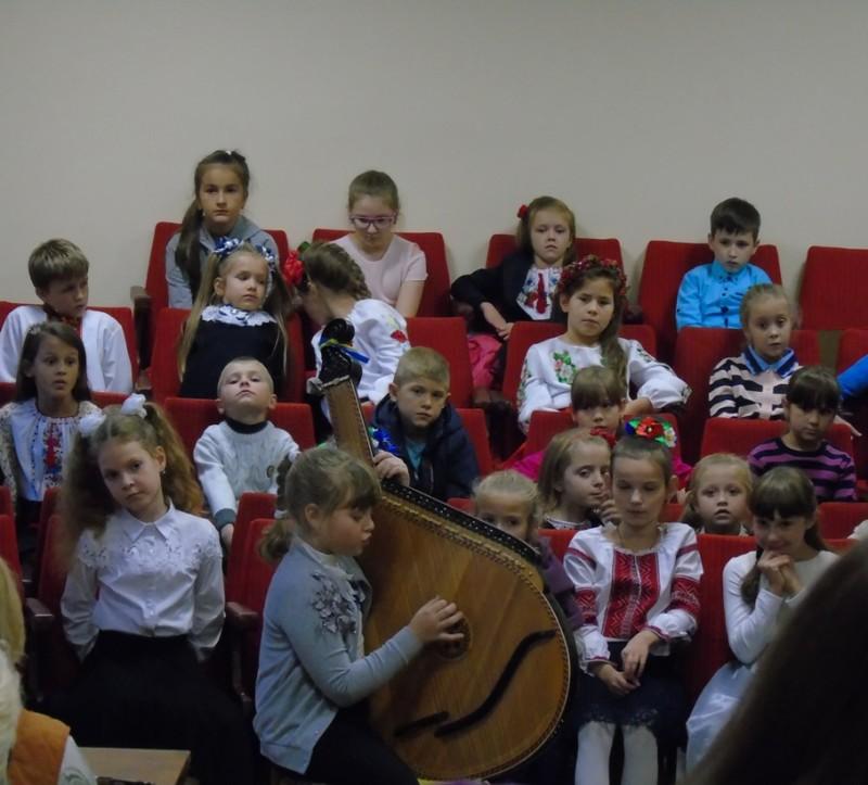 У Луцькій музичній школі відбулося свято першокласника
