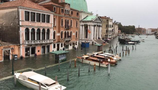 Туристичні пам'ятки Венеції опинилися під водою