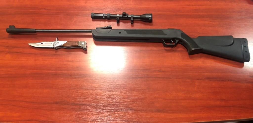 На« Устилузі» у громадянина вилучили пневматичну гвинтівку
