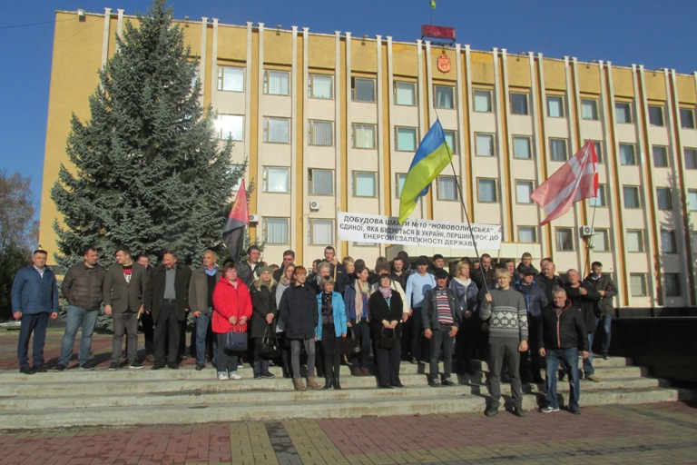 Нововолинські шахтарі мають намір йти до Києва, якщо їм не виплатять зарплат