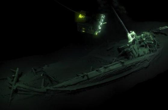 У Чорному морі знайшли уламки корабля, якому понад 2400 років. ВІДЕО