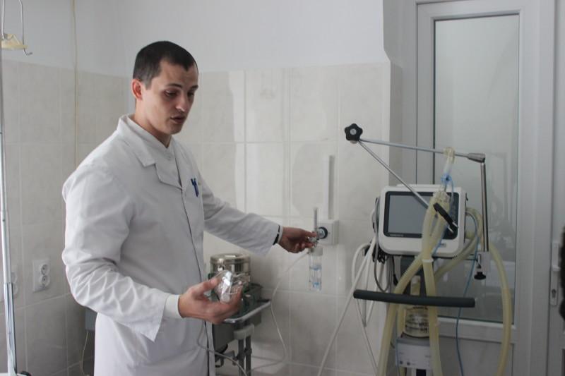У Луцькому військовому гарнізонному госпіталі встановили нову систему кисневого забезпечення. ФОТО