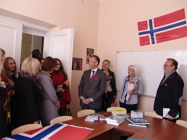 У Лесиному виші відкрили Центр норвезької мови і культури. ФОТО. ВІДЕО
