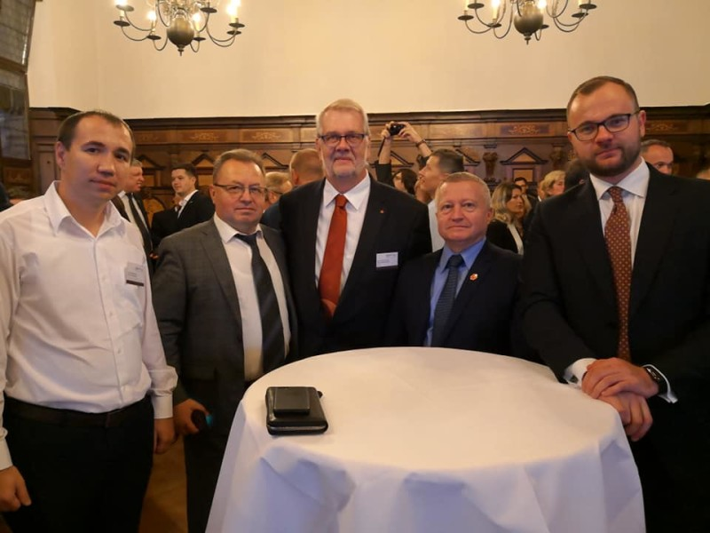 Обговорили подальшу партнерську співпрацю міста Луцьк і краю Ліппе