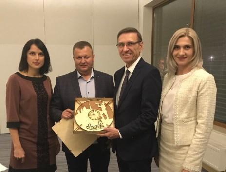 Депутати Луцькради побували на міжнародній зустрічі в Ольштині. ФОТО