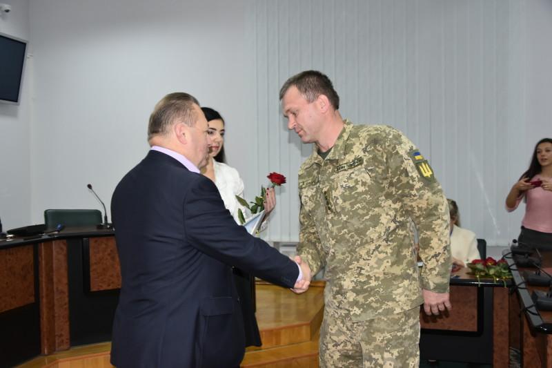 У Луцьку нагородили військовослужбовців