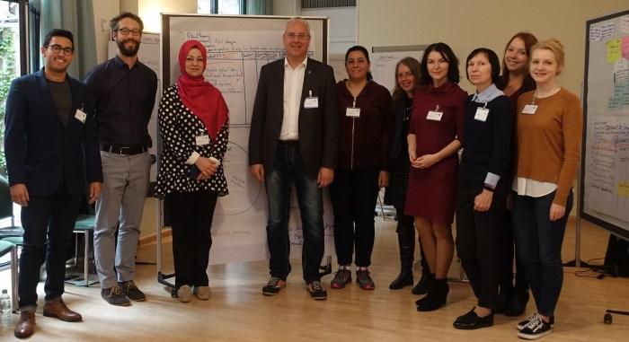 Лучани представили свій проект на конференції у Німеччині