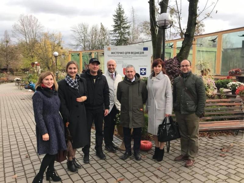 Луцьк відвідали керівники програми Польща–Білорусь–Україна