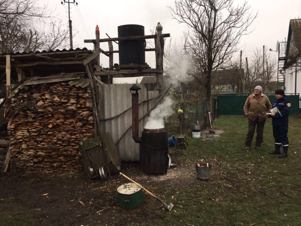 Волинян навчали, як не спалити оселі від перегріву пічного опалення