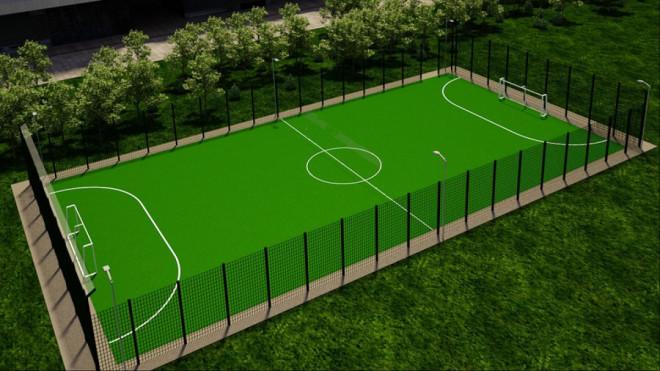 На Волині побудують вісім футбольних полів зі штучним покриттям