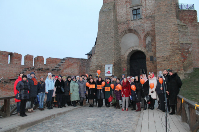 Волинь долучилася до Всеукраїнської акції «16 днів проти насильства». ФОТО