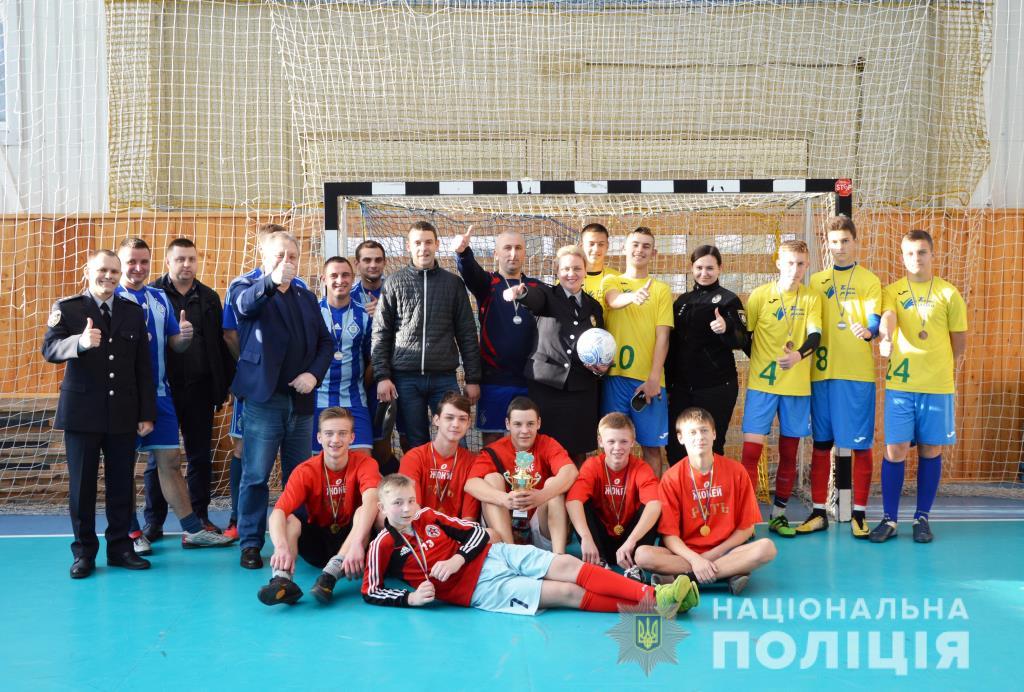 У Луцьку відбувся товариській футбольний матч між командами поліцейських і дітей. ФОТО. ВІДЕО