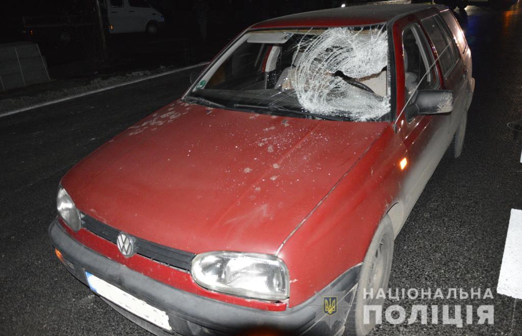 У селі на Волині автомобіль збив на смерть чоловіка. ФОТО