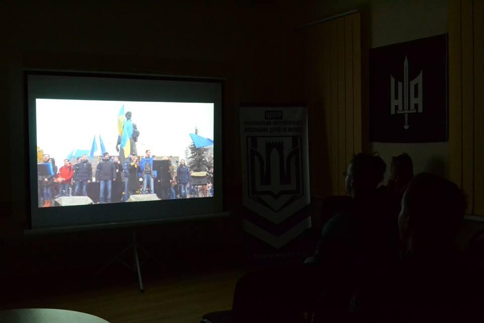 Для молоді організували зустріч з активістами луцького Євромайдану. ФОТО