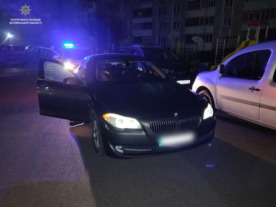 У Луцьку покарали водія, який втікав від патрульних