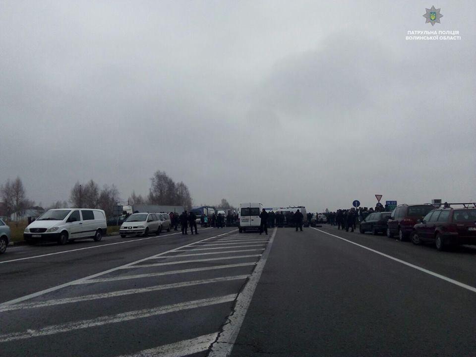 Волинян попереджають про акції протесту на «Устилузі» та «Ягодині»