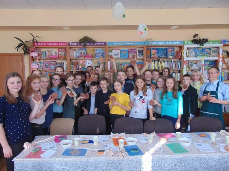 У Луцьку до Дня української мови та писемності провели оригінальний майстер-клас