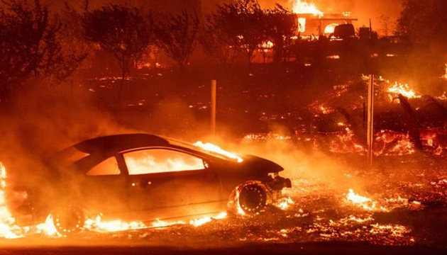 Пожежі у Каліфорнії: 84 особи загинули, понад 800 зникли безвісти