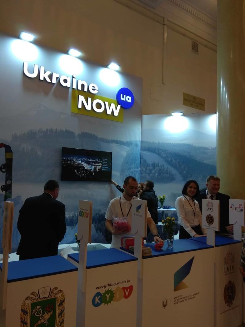 Луцьк презентує свій туристичний потенціал на Міжнародній виставці у Варшаві