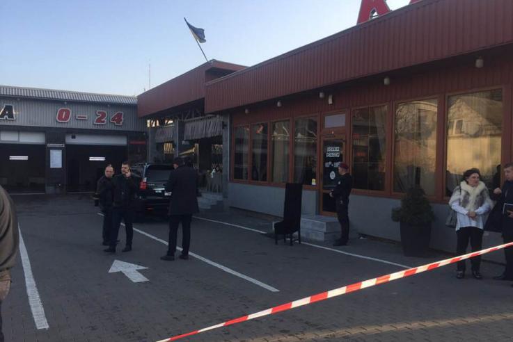 Учасника стрілянини на автомийці у Луцьку взяли під варту