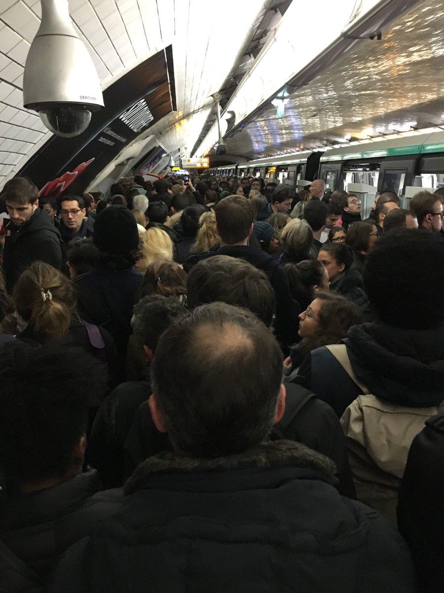 У Парижі зупиняли роботу метро через пасажира з цапом