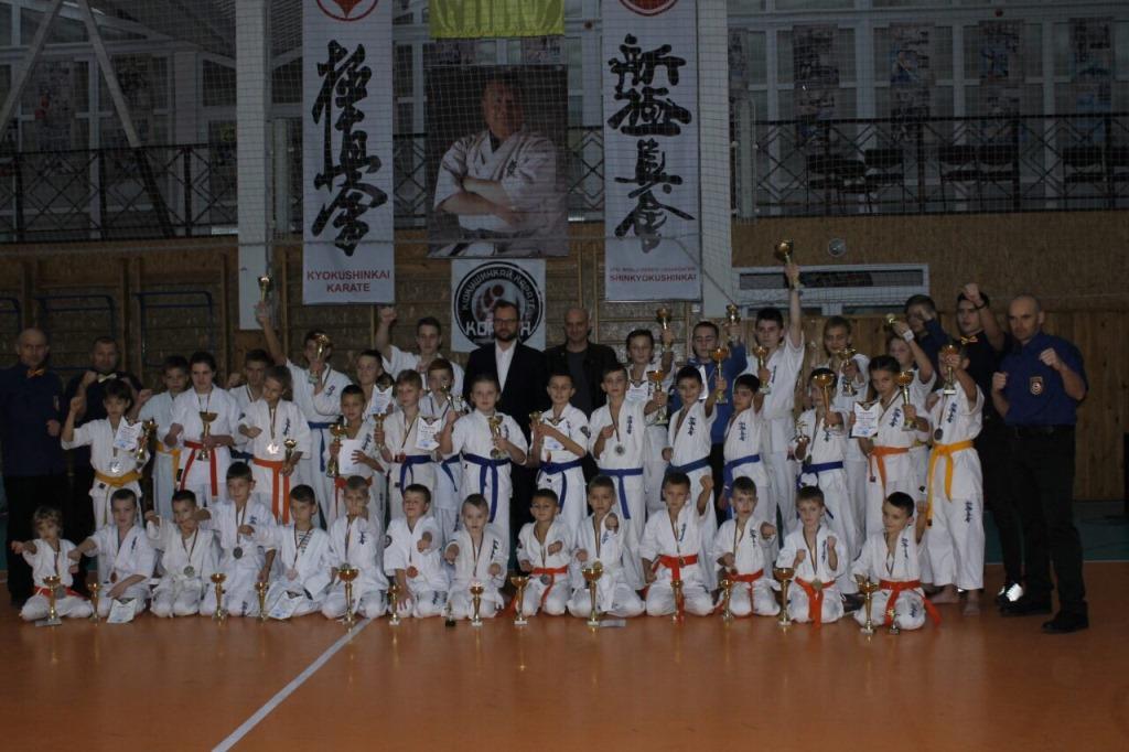 На Волині відбувся відбувся турнір з кіокушинкай-карате. ФОТО