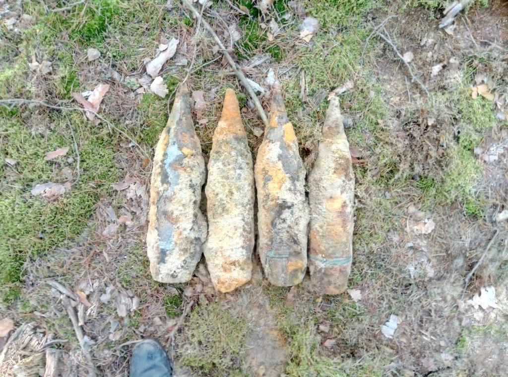 На Волині сапери знешкодили шість боєприпасів