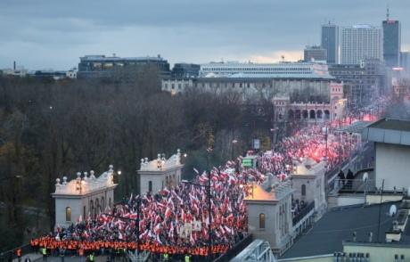 У Варшаві заборонили марш націоналістів до 100-річчя незалежності