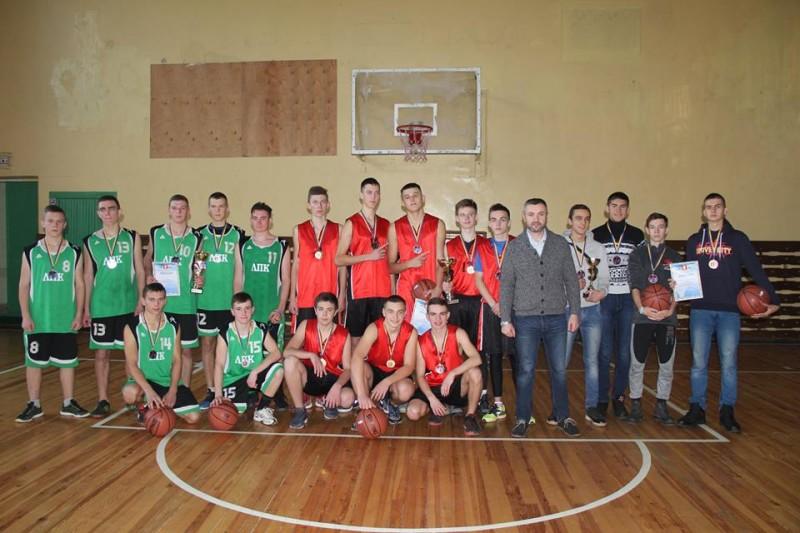 Відбувся чемпіонат Луцька з баскетболу серед юнаків. ФОТО