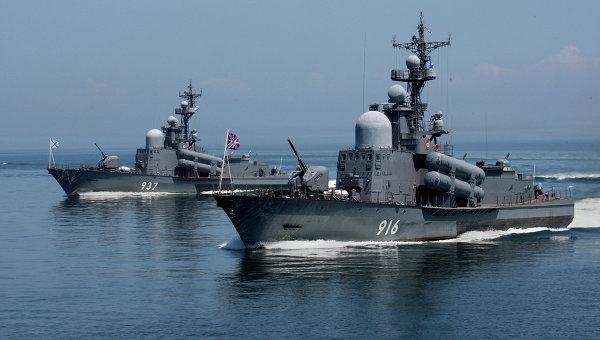 Біля кордонів Латвії зафіксували російський військовий корабель