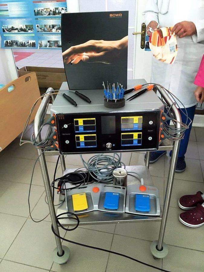 Обласна дитяча лікарня Волині отримала унікальне хірургічне обладнання