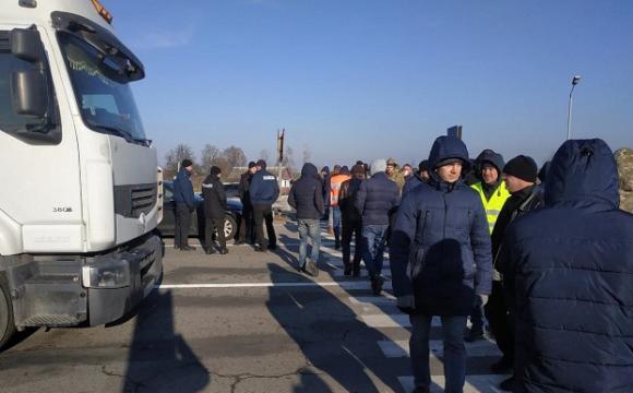 Через блокування траси «Київ–Ковель–Ягодин» митниця зазнала великих збитків