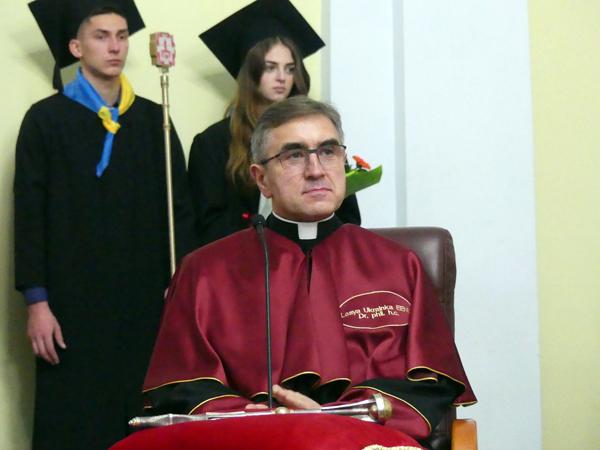 Почесний титул Лесиного вишу вручили ректору з Польщі