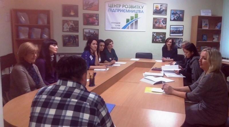 Майбутні підприємці пройшли навчання у Луцькому міському центрі зайнятості