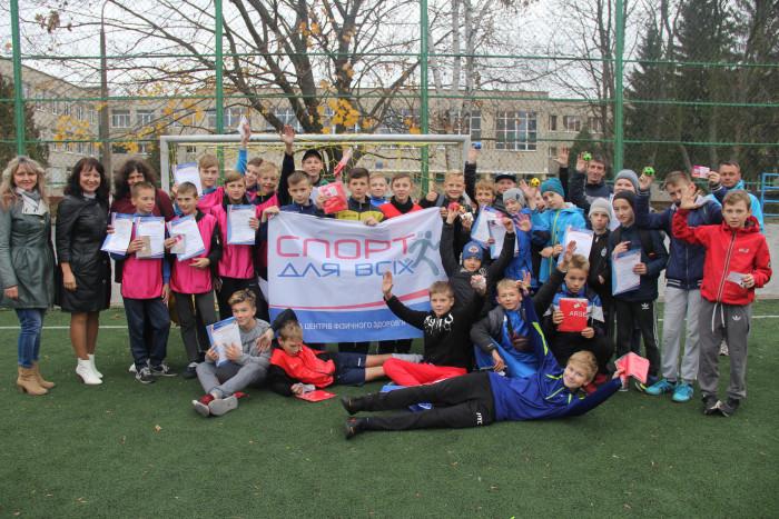 У Луцьку для дітей провели турнір з міні-футболу