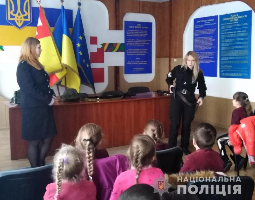 У Луцьку поліцейські провели зі школярами бесіди на правову тематику. ФОТО