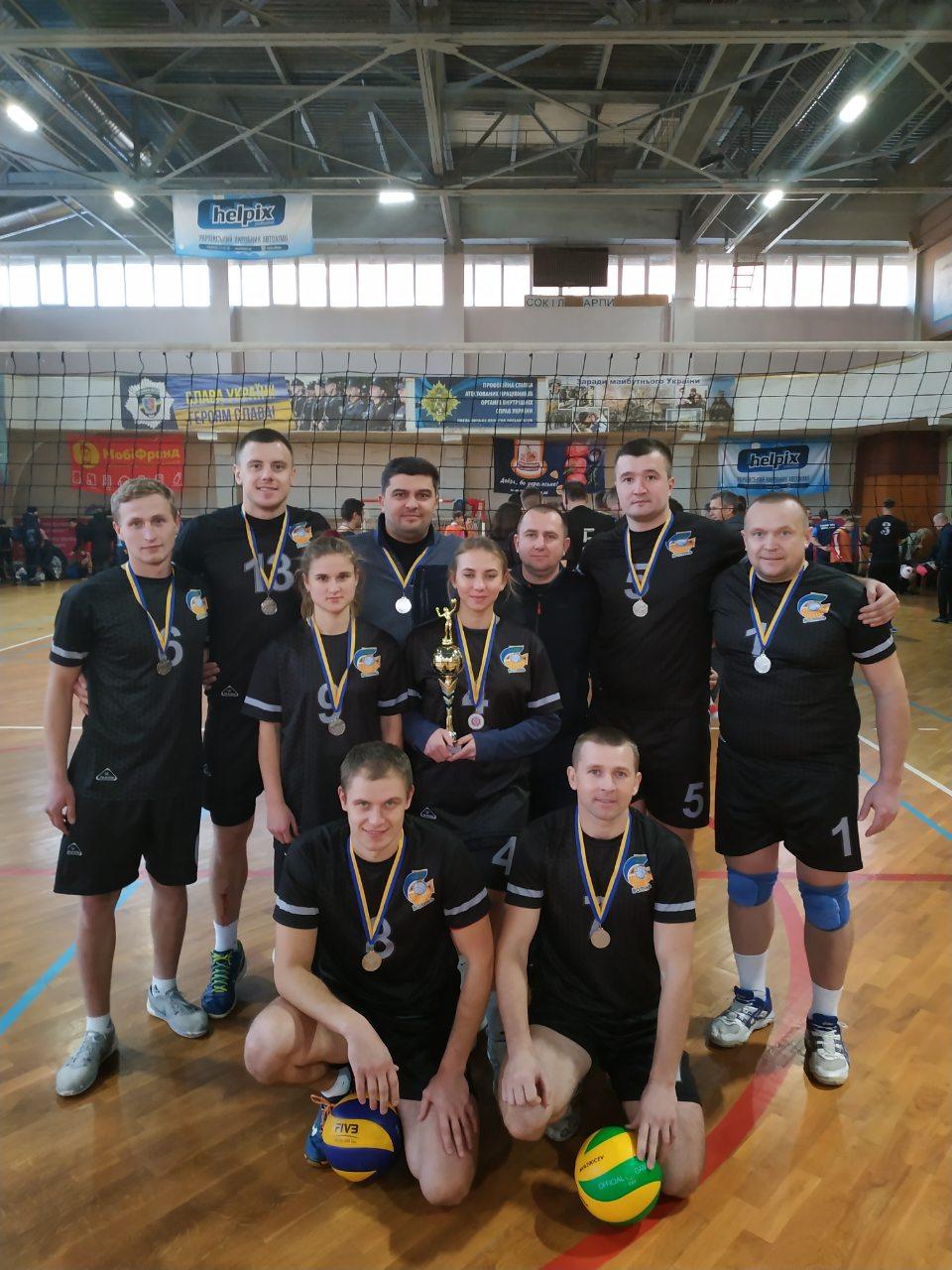 Волинські рятувальники – срібні призери Чемпіонату ДСНС України з волейболу