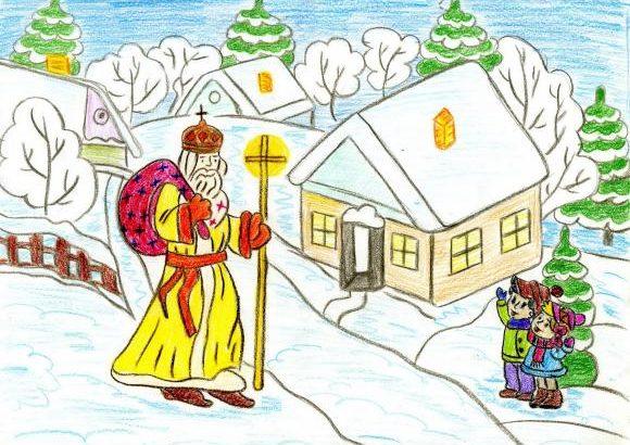 У Луцьку відбудеться конкурс дитячого малюнка до Дня святого Миколая
